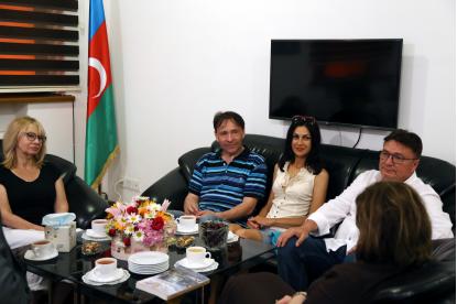 Los escritores ucranianos han visitado el Centro de Traducción