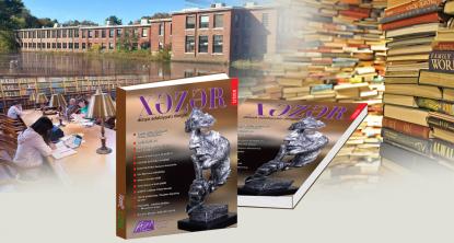 La revue de la littérature mondiale « Khazar » dans les universités et bibliothèques du monde