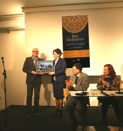 """Mystery"" - Azerbaijan Short Stories Launched in Berlin"