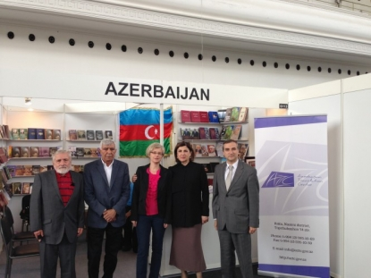 Azərbaycan Praqada keçirilmiş 21-ci Beynəlxalq Kitab Sərgisində təmsil olunub