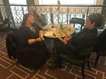 Bolqarıstan Jurnalistlər Birliyinin əməkdaşı Rozalina Evdokimovanın Afaq Məsudla müsahibəsi