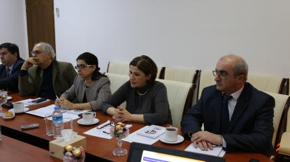 Erste Sitzung des Rates für Wissenschaft und Kunst