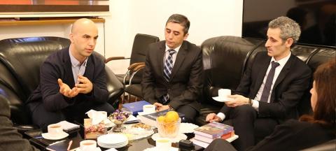 Посол Франции побывал в Центре Перевода
