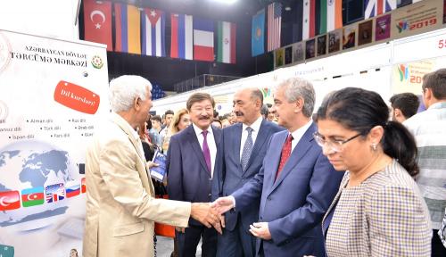 شارك مركز الترجمة الحكومي الأذربيجاني في المعرض الدولي السادس للكتاب