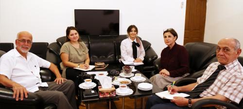 قام السفير المكسيكي بزيارة مركز الترجمة الحكومي الأذربيجاني