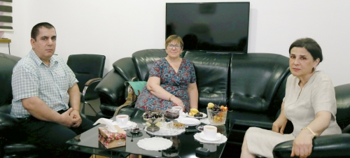 La reunión con la Jefa de Representación del Centro de Traducción en Inglaterra