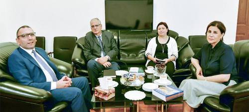 Известный израильский писатель побывал в Центре Перевода