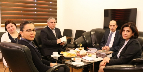 The New Ambassador of Jordan Visits AzSTC