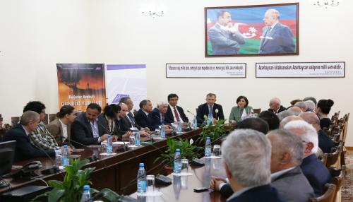 В Баку состоялась презентация книги известного грузинского поэта Багатера Арабули