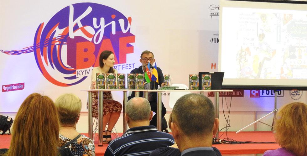 """""""Leyli və Məcnun"""" Beynəlxalq Kitab Festivalında"""